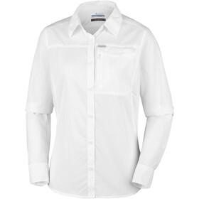Columbia Silver Ridge 2.0 Langærmet T-shirt Damer hvid